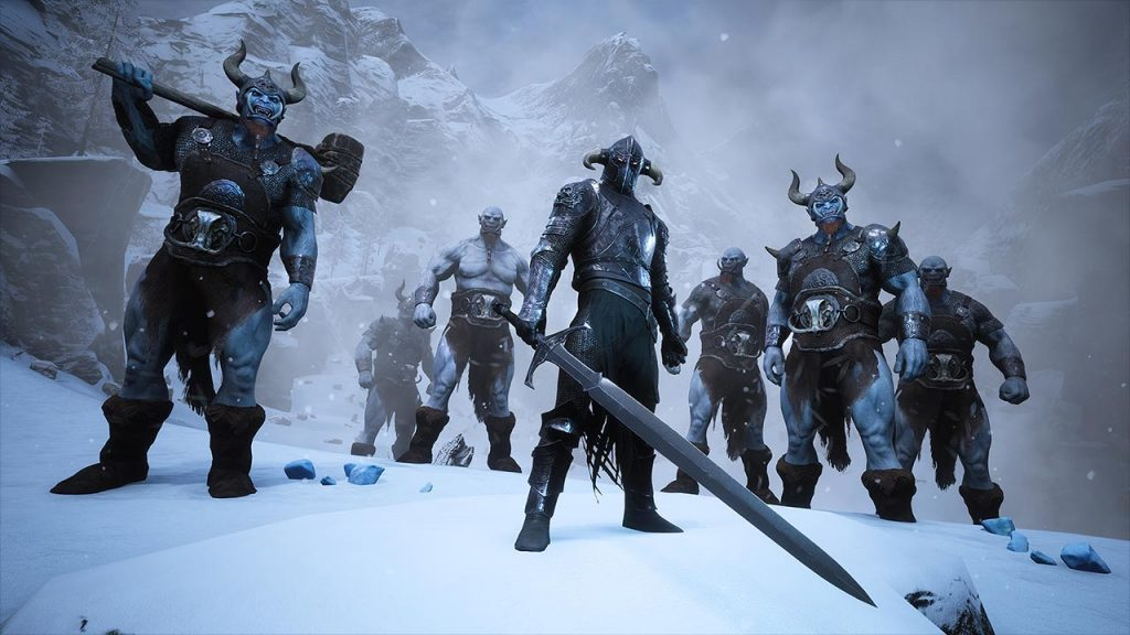 Conan Exiles Frozen North gegner
