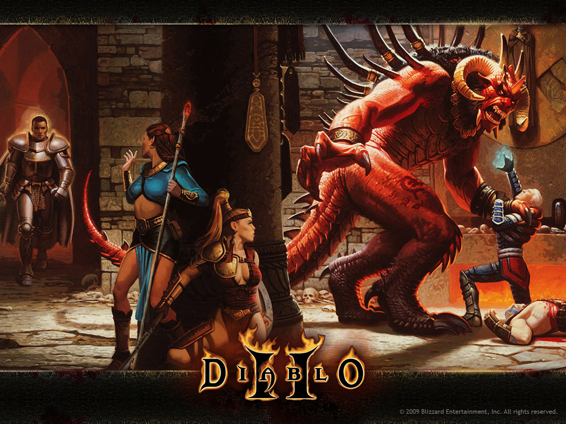Diablo 2 Artwork