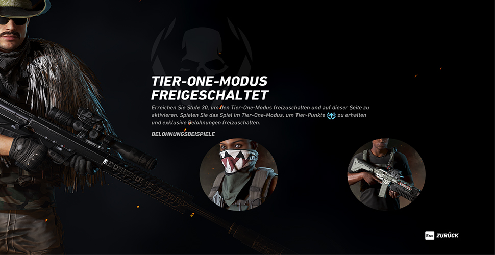 GRW Tier One Ingame