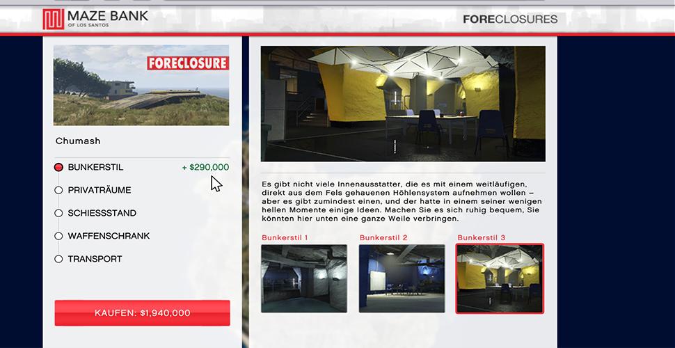 GTA 5 Online BunkerStile