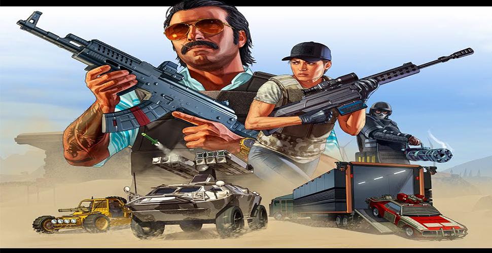 GTA 5 Online Gunrunning Titel