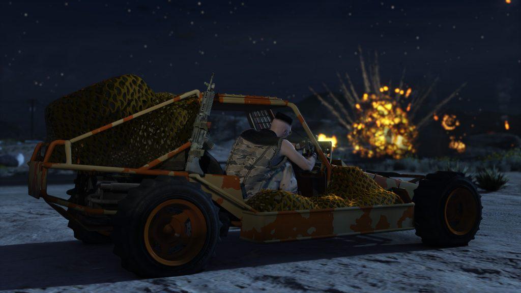 GTA 5 OnlineGunrunning 14