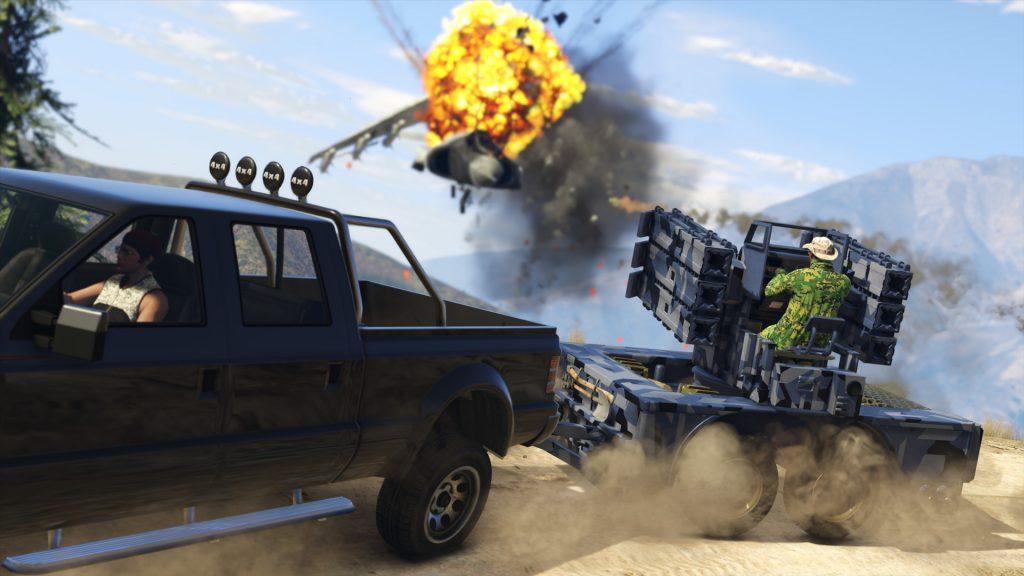 GTA 5 OnlineGunrunning 7