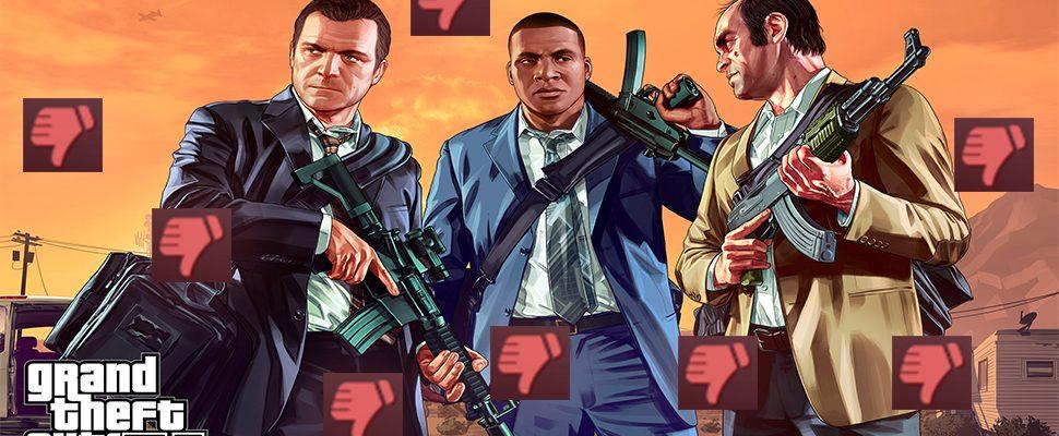 GTA 5 verteilt großzügig Banns, doch Spieler beteuern ihre Unschuld