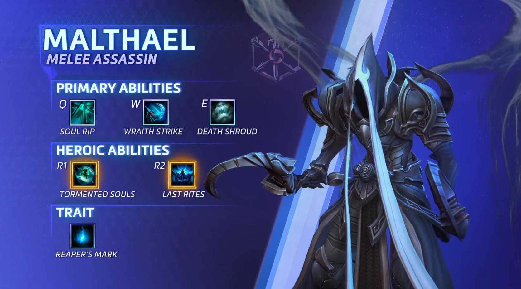 HotS Malthael Abilities