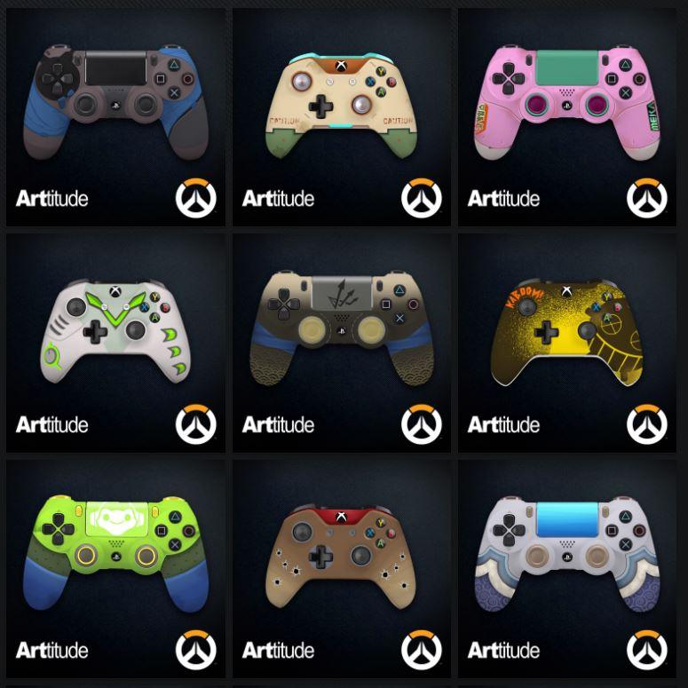 Overwatch Controller Auswahl