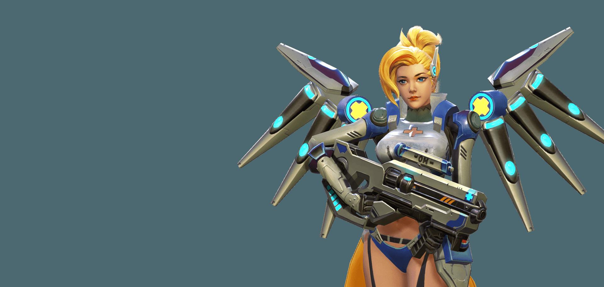 Overwatch Hero Mission Mercy