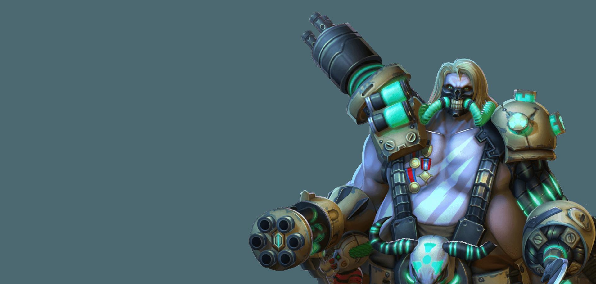 Overwatch Hero Mission Roadhog
