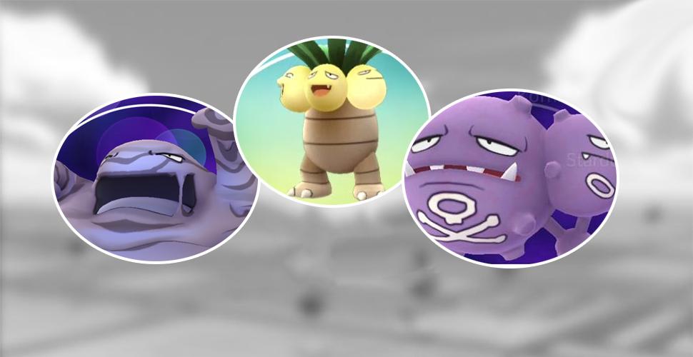 Pokémon GO 3er Kokosmogslei