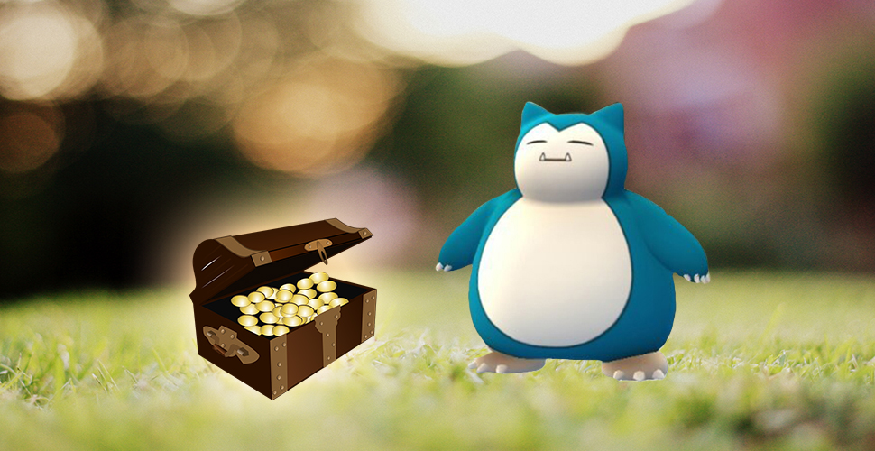 Pokémon GO Relaxo Münzen Titel