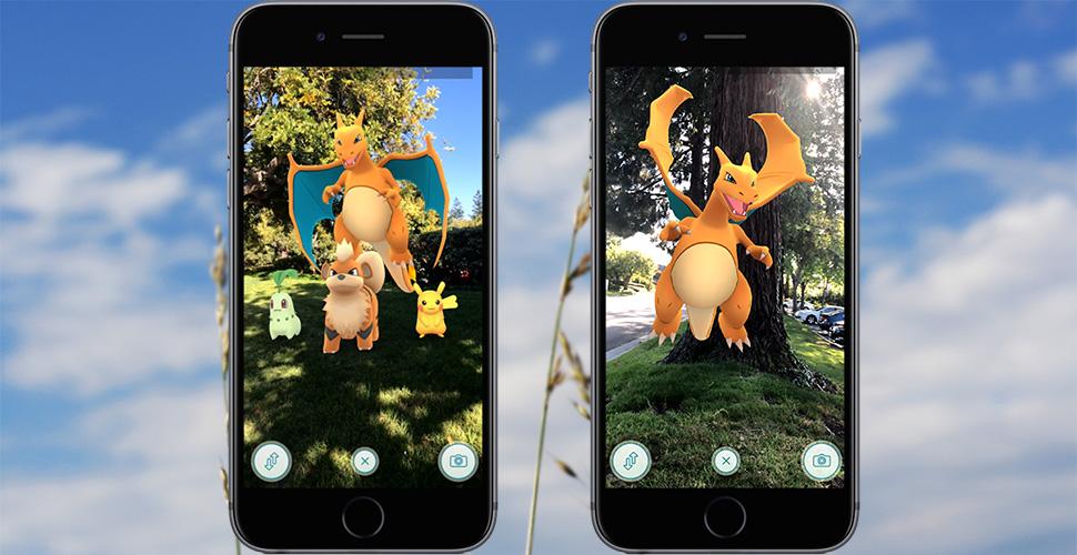Pokemon GO ARKit doppel