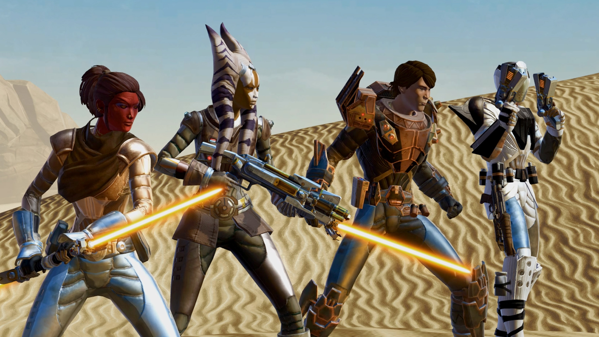 SWTOR Troops Aiming