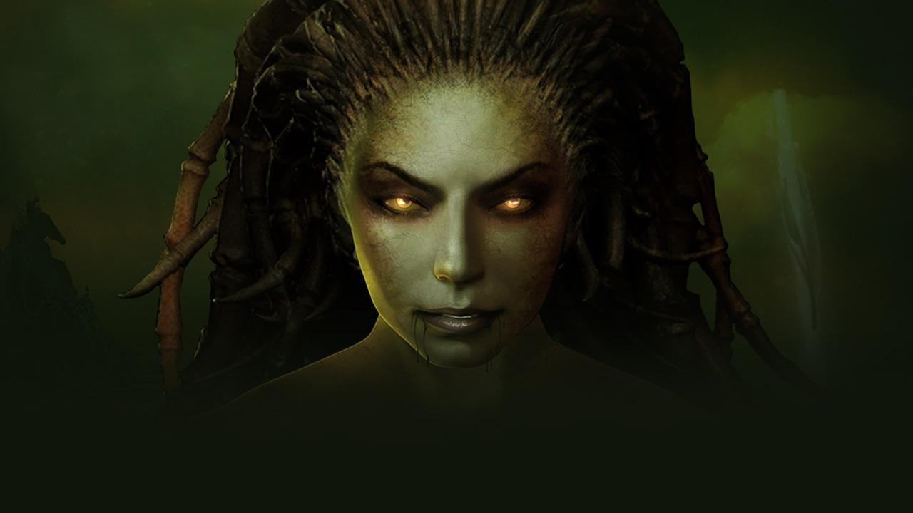 StarCraft Remastered Kerrigan