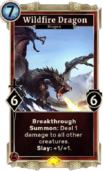 The Elder Scrolls Legends Wildfire Dragon