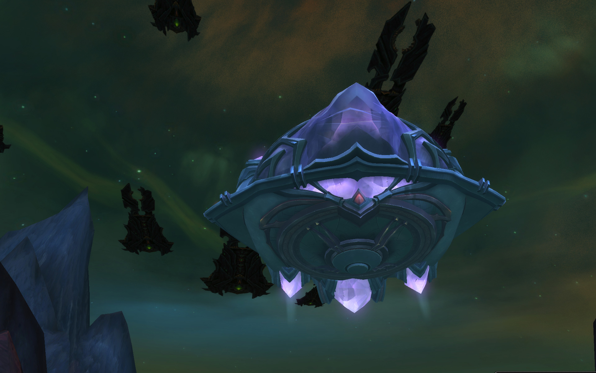WoW Argus Vindicaar Ship