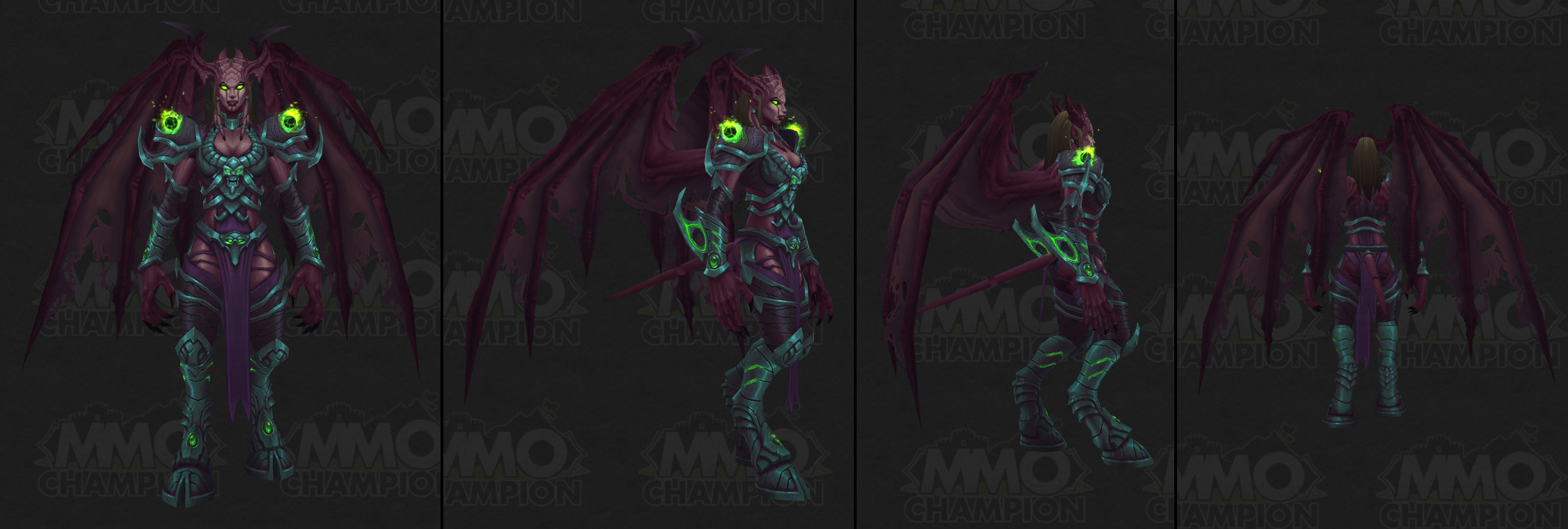 WoW Creature Argus Winged Eredar