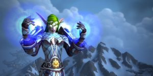 WoW Frost Mage Night elf