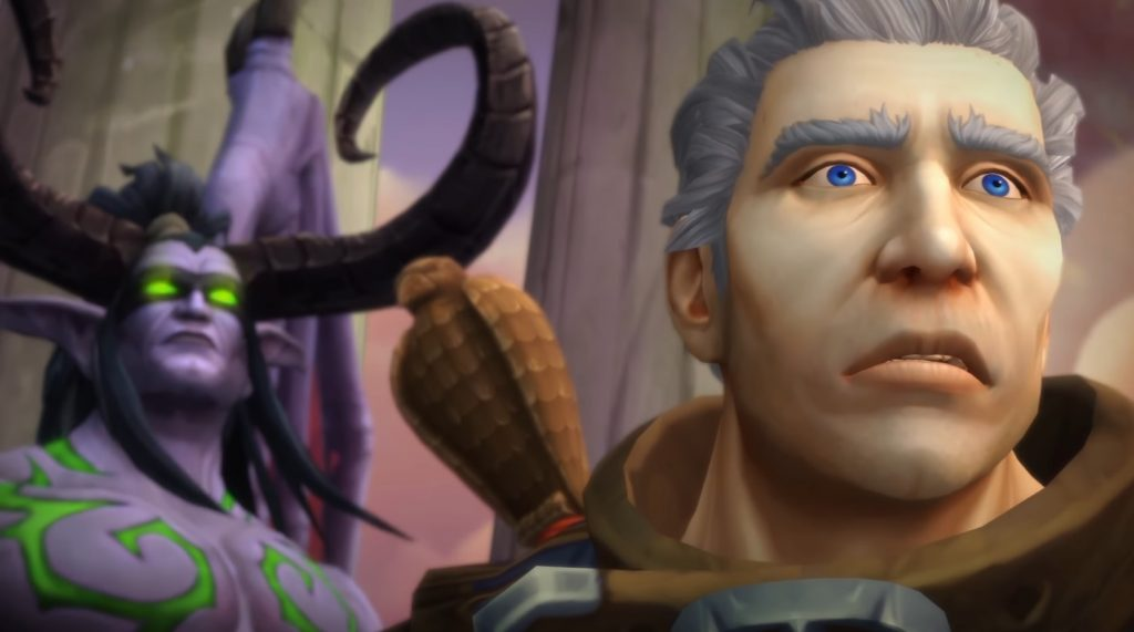 WoW Tomb of Sargeras Cinematic Khadgar oh lol