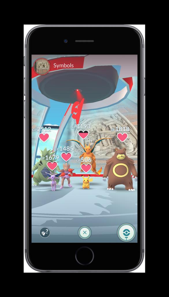 Pokémon GO Gruppe
