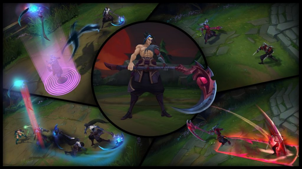 lol kayn-collage