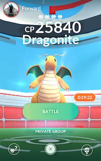 Pokémon GO Raid 1
