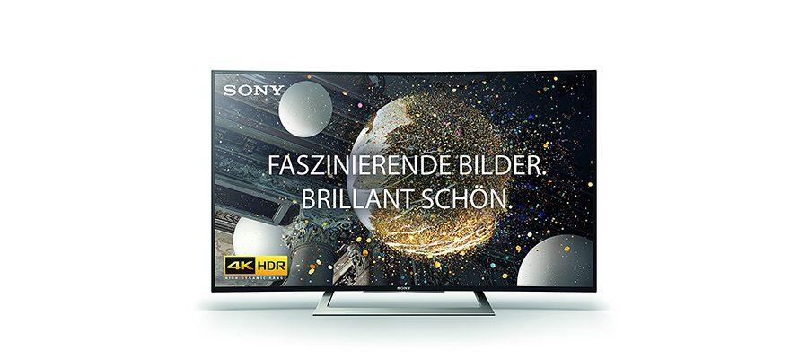 Amazon Blitzangebote am 31. Juli – Sony 4K-Curved-Fernseher