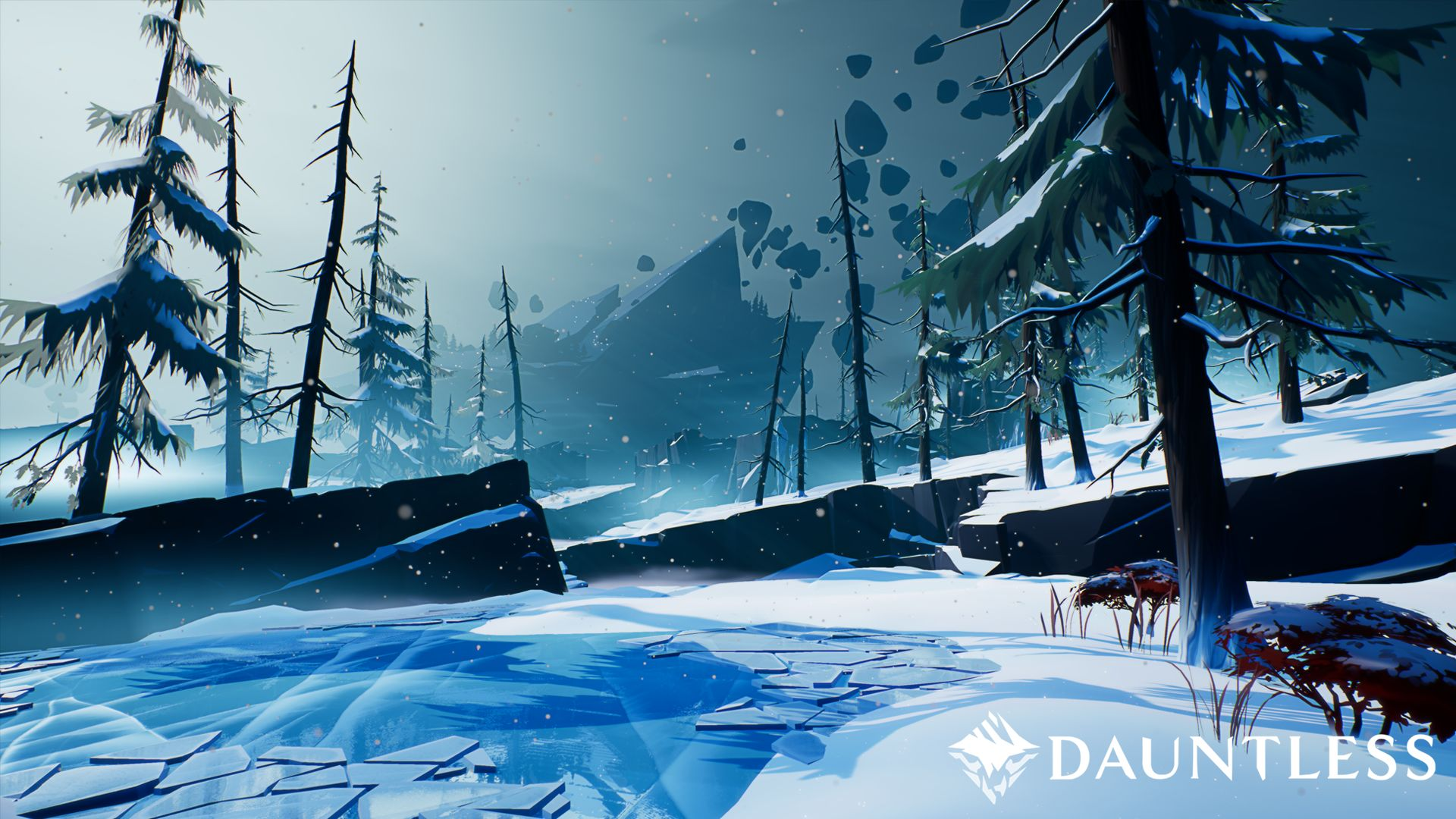 Dauntless Snow Biome