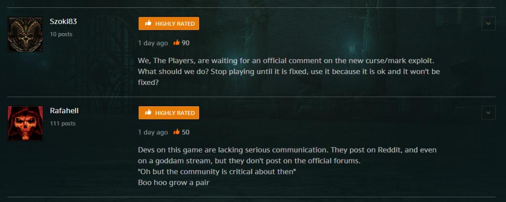 Diablo 3 Comm Exploit