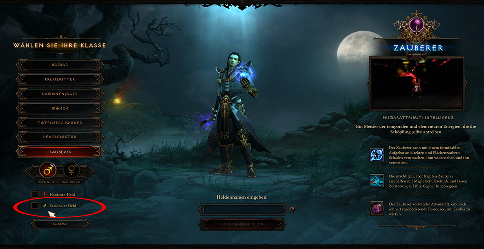 Diablo 3 Saison Held