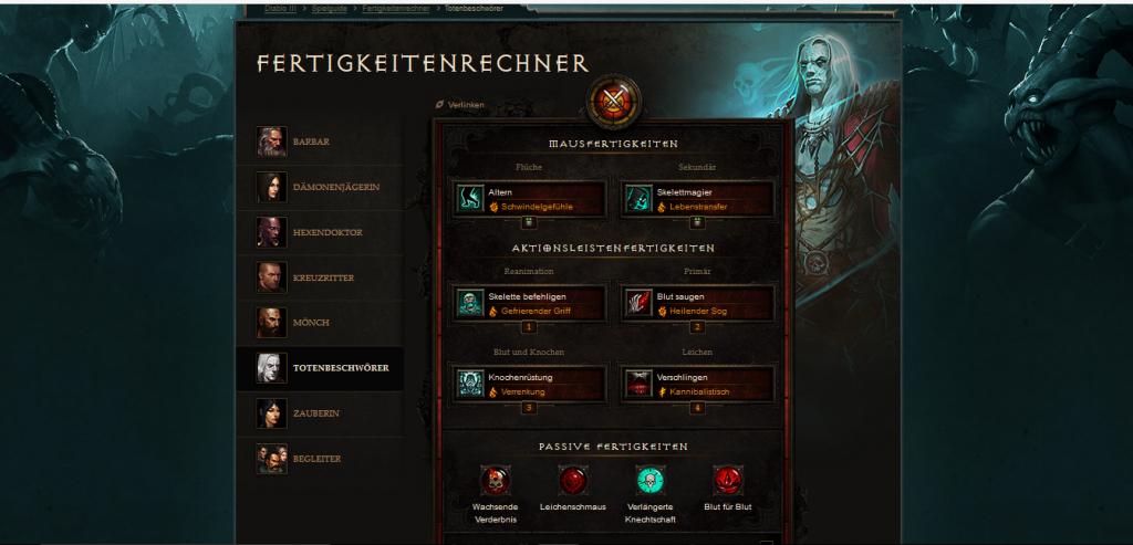 Diablo3 Build Skills