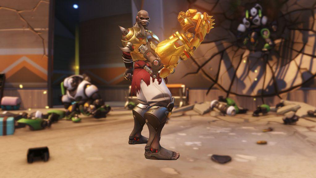 Doomfist Golden Weapon