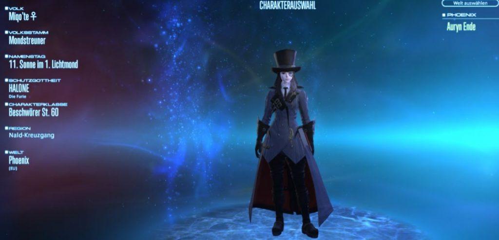 Final Fantasy Auryn Beschwörer