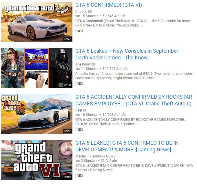 GTA 6 Youtuber