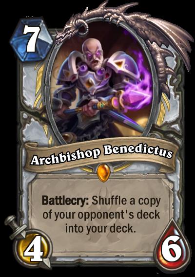 Hearthstone Archbishop Benedictus