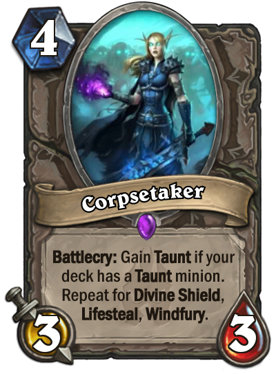 Hearthstone Corpsetaker