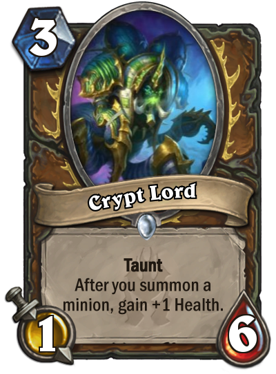 Hearthstone Crypt Lord