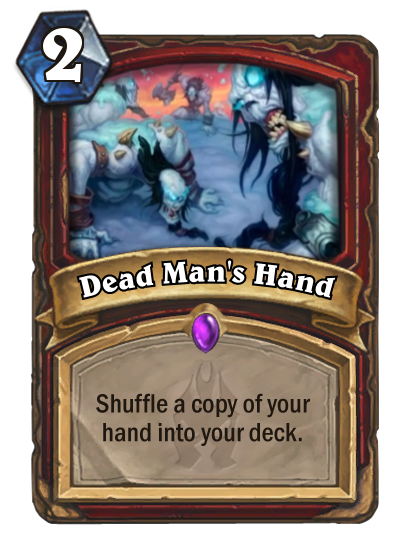 Hearthstone Dead Mans Hand