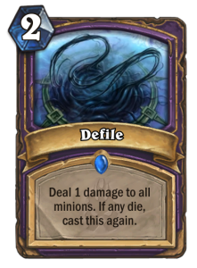 Hearthstone Defile