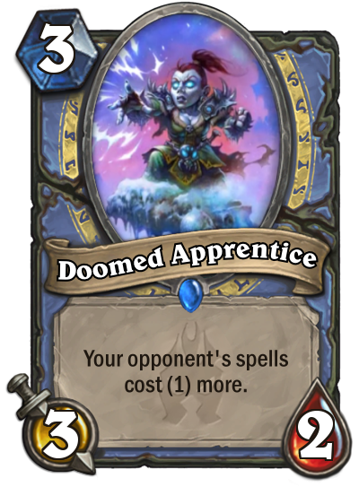 Hearthstone Doomed Apprentice