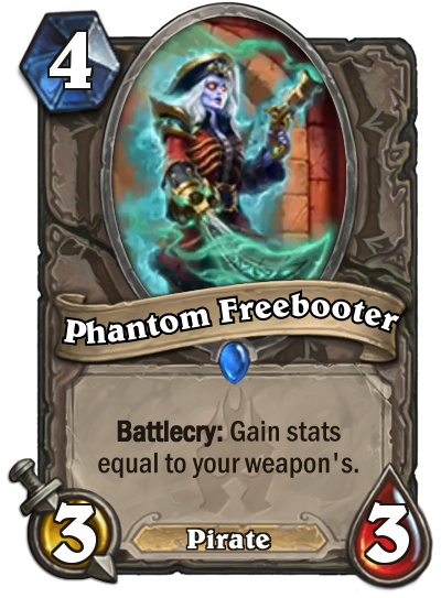 Hearthstone Freebooter