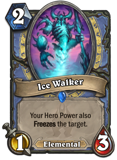 Hearthstone Ice Walker