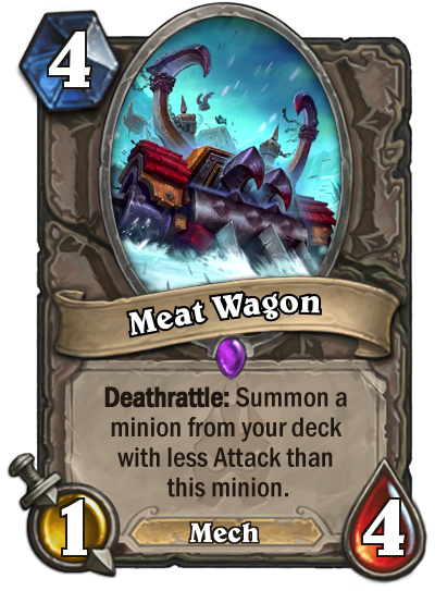 Hearthstone Meat Wagon