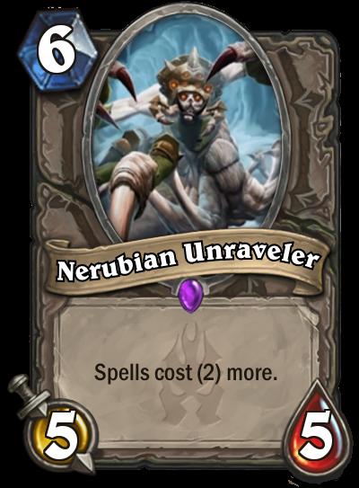 Hearthstone Nerubian Unraveler