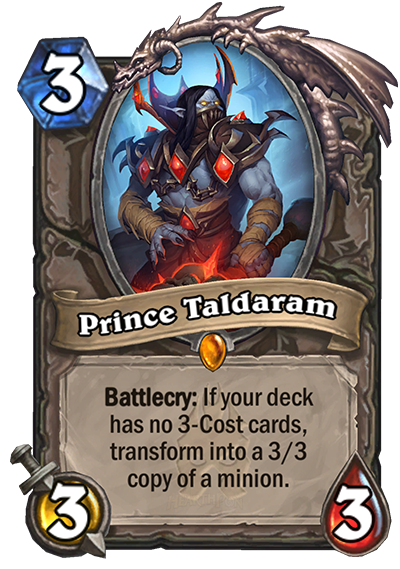 Hearthstone Prince Taldaram