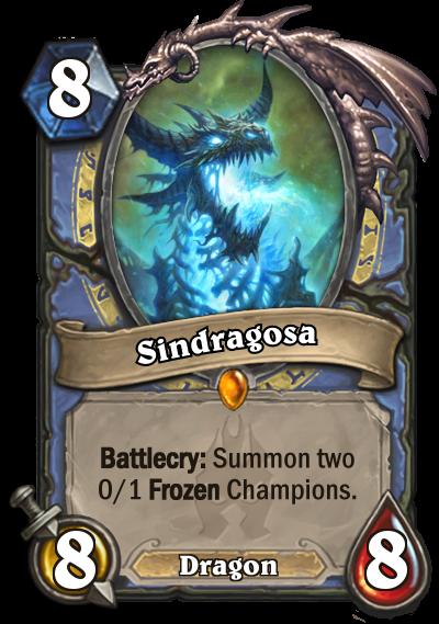 Hearthstone Sindragosa