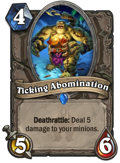 Hearthstone Ticking Abomination