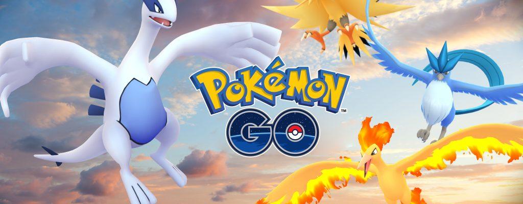 Pokémon GO: Zeitplan! Alle legendären Vögel nur kurz im Spiel