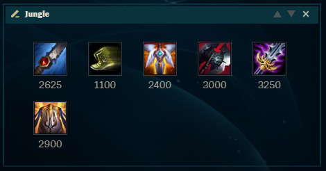LoL Kayn Build JGL