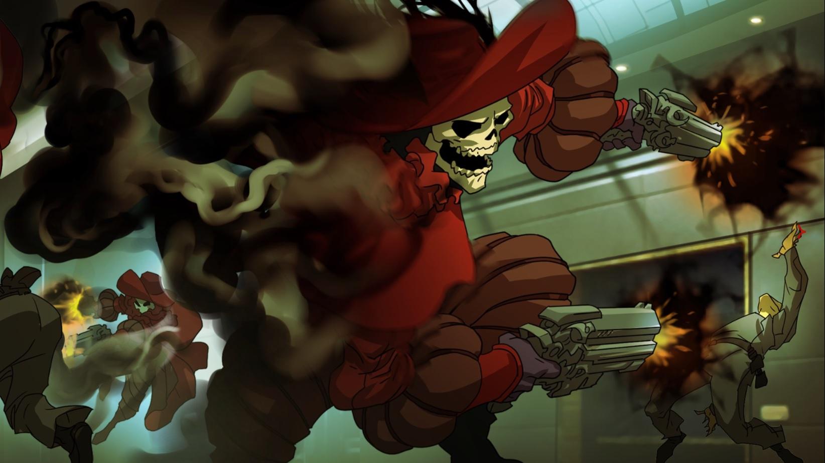 Overwatch Doomfist Comic Reaper Skin