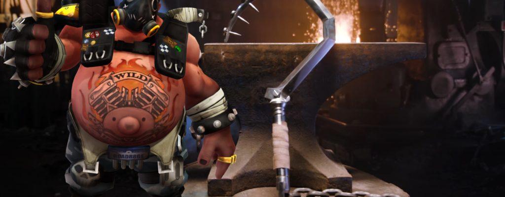 Overwatch: Komm her! – Roadhogs Haken geschmiedet als echte Waffe